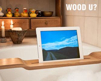 Badewannenhalterung für ipad und tablet