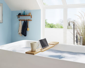 Bild:ipad halterung badewanne tablet halterung