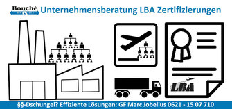 Bild: Unternehmensberatung LBA Zulassung / Zertifizierung für Newcomer