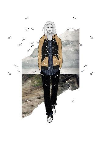 apollo-artemis, mode, design, nachhaltig, handgemacht, skizze, mode illustration, zahlen, outfit