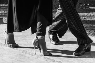 Tango Tänzer in Buenos Aires