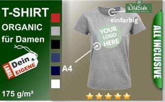 T-Shirt bio Baumwolle Drucken