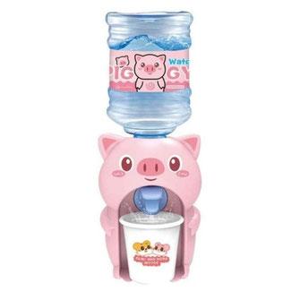 Mini dispensador de agua Cerdito