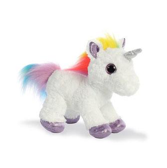 Peluches de unicornio multicolor