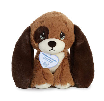 Precious Moments Peluche Perro Hunter