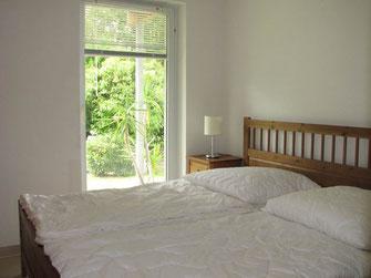 Wintergarten Fewo Cuxhaven, Schlafzimmer