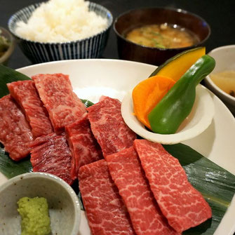 神戸牛焼肉定食