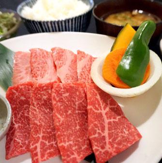 神戸牛カルビ定食