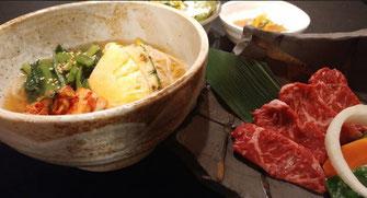 冷麺&焼肉定食