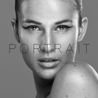 Portrait - Markus Hertzsch - B&W - Girl - Model - Bildlook - Face - Pose - Art - Hair - Eyes
