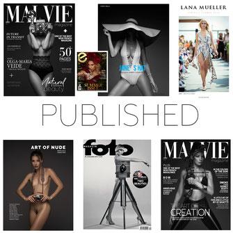 Published - Markus Hertzsch - References - Magazines - Publication - Fame - Contest - Print - Cover - Releases