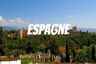 Espagne, circuit en Andalousie