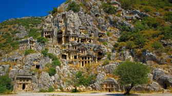 Site archéologique de Myra - Turquie