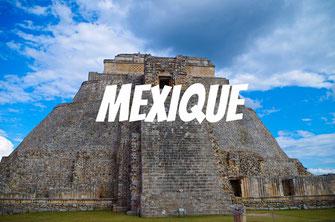 Tourisme au Yucatan - Mexique