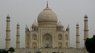 Agra - Taj Mahal - New Delhi - Inde