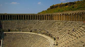 Théâtre romain d'Aspendos - Turquie