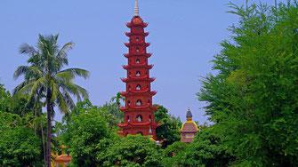 Pagode de Tran Quoc - Vietnam