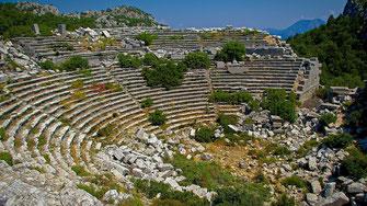 Site archéologique de Termessos - Turquie
