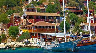 Site de Simena - Turquie