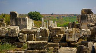 Site archéologique de Perge - Turquie