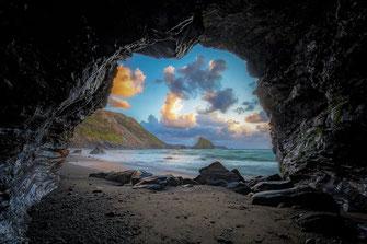 Très tôt, touchée par la foi, elle s'en allait prier non loin de Querci, dans la grotte de Nepiticcia.