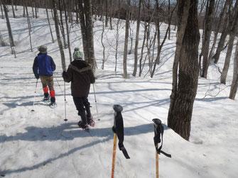 初めての雪上ハイキング!