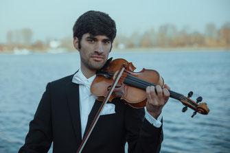 Javier Carbone Sarmiento (Violine/Mainzer Virtuosi) Musiktage am Rhein