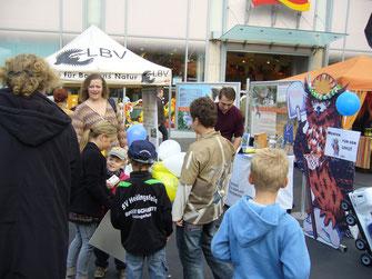 LBV-Stand auf dem Würzburger Stadtfest