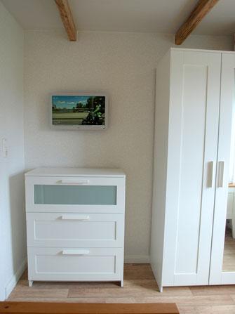 2.Schlafzimmer mit Sat-TV