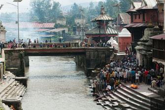 Nepal, Kathmandu, Tempel