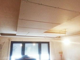 Schöne Renovierung mit gutem Handwerker in Frankfurt am Main, neue Deckenbeleuchtung, Trockenbau mit CRO-BAU, erfahrener Handwerker aus Frankfurt, Zvonimir Kovacevic