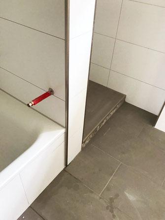 Neues Badezimmer gebaut, CRO-BAU Frankfurt, guter Handwerker in Frankfurt, perfektes Badezimmer, wie neu, günstig, preiswerter Umbau