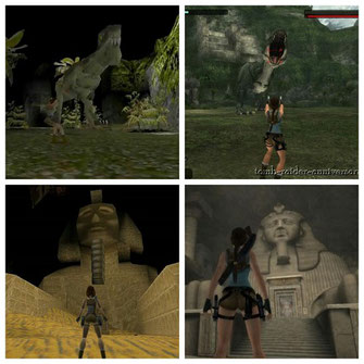 Tomb Raider 1 und Anniversary