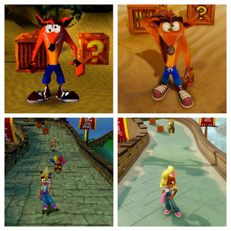 Crash Bandicoot und S.N. Triologie
