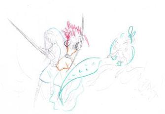 Amazone, Elfe und Meerjungfrau