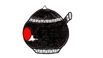 Schwarze Wunderlampe