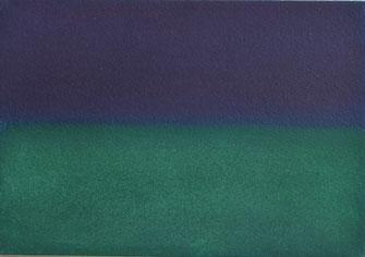 「Aura-b」16×23cm パステル画 パネル張り   ¥38,000(税込パネル価格)