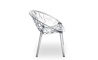 Acryl Stühle, Plexiglas Stühle,Atemberaubendes Design aus hochfestem Polyamid in Amber, der Plexiglas Stuhl NATURE, Victoria, Ghost und vielen mehr © NEUERRAUM