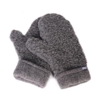 Moufles en laine naturelle de mouton lainage tricot moufle mitaine gant en laine lavable machine doux léger chaud respirant only mouton gris anthracite grise homme
