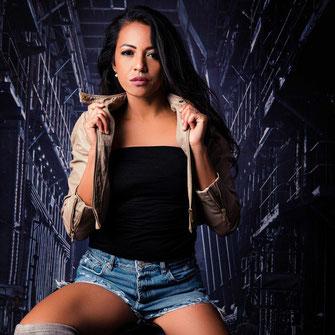 kobieta schody