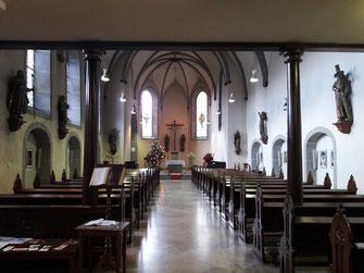Die Kapelle vom Kloster Calvarienberg in Ahrweiler. Bald für geistliche nicht mehr zugänglich.