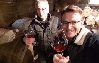 Es erwarten Sie bei einer Weinprobe im Ahrtal an der Ahr viele Informationen durch den Winzermeister zum Thema Weinanbau,