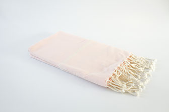 fouta naté  rose 1mx2m