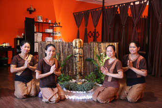 das Mantra Thaimassage Team
