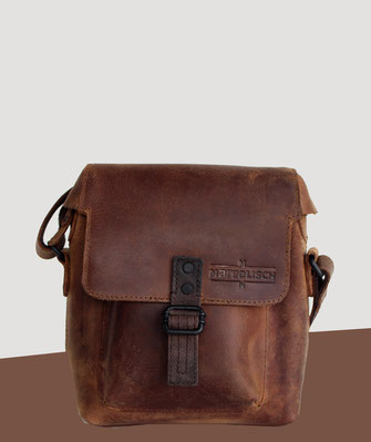 Margelisch leather bag rough purist