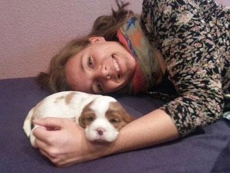 Jasper 3 Wochen alt mit neuer Freundin