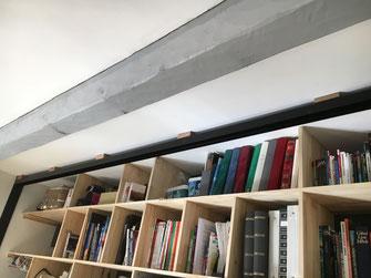 Cales de rattrapage du faux niveau au plafond