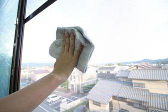 窓、サッシ清掃