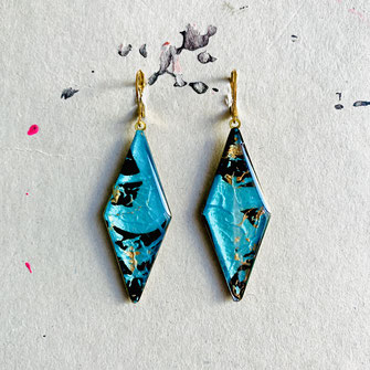 Rhombus Ohrhänger/Earrings 35€ (Click foto to see all)