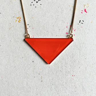 "Triangle Kette ""Individual Item No1"" 35 €"